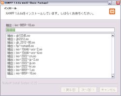 XAMPP 導入手順(7)