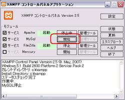 XAMPP 導入手順(17)